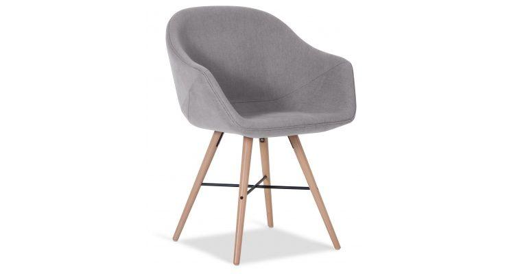 Afbeelding niuw pinterest kuipstoel eettafel en stoelen for Kuipstoel stof