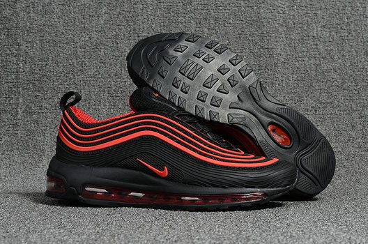 new arrival 894e8 9f1ab Genuine Nike Air Max 97 Black Red Nike Air Max 97 On Line