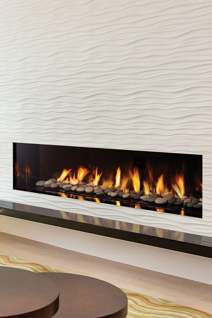 Regency City Series New York View 72 Designer Gas Fireplace This