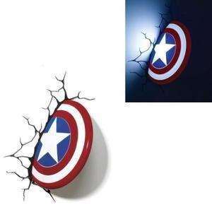 marvel comics 3d captain america bouclier applique murale