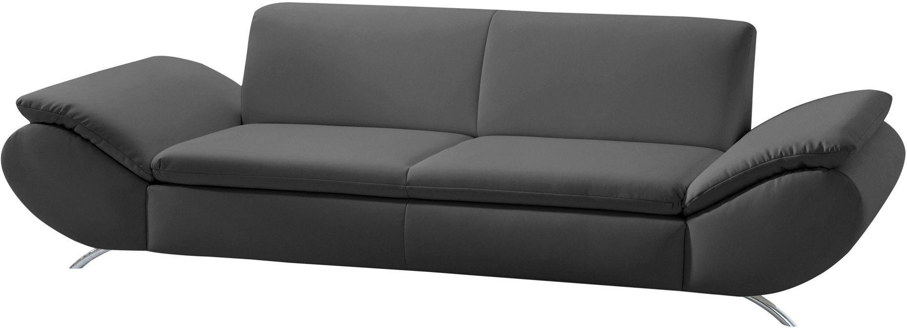 Sofa 2,5-Sitzer Marseille schwarz Max Winzer #loft #industrialstyle ...