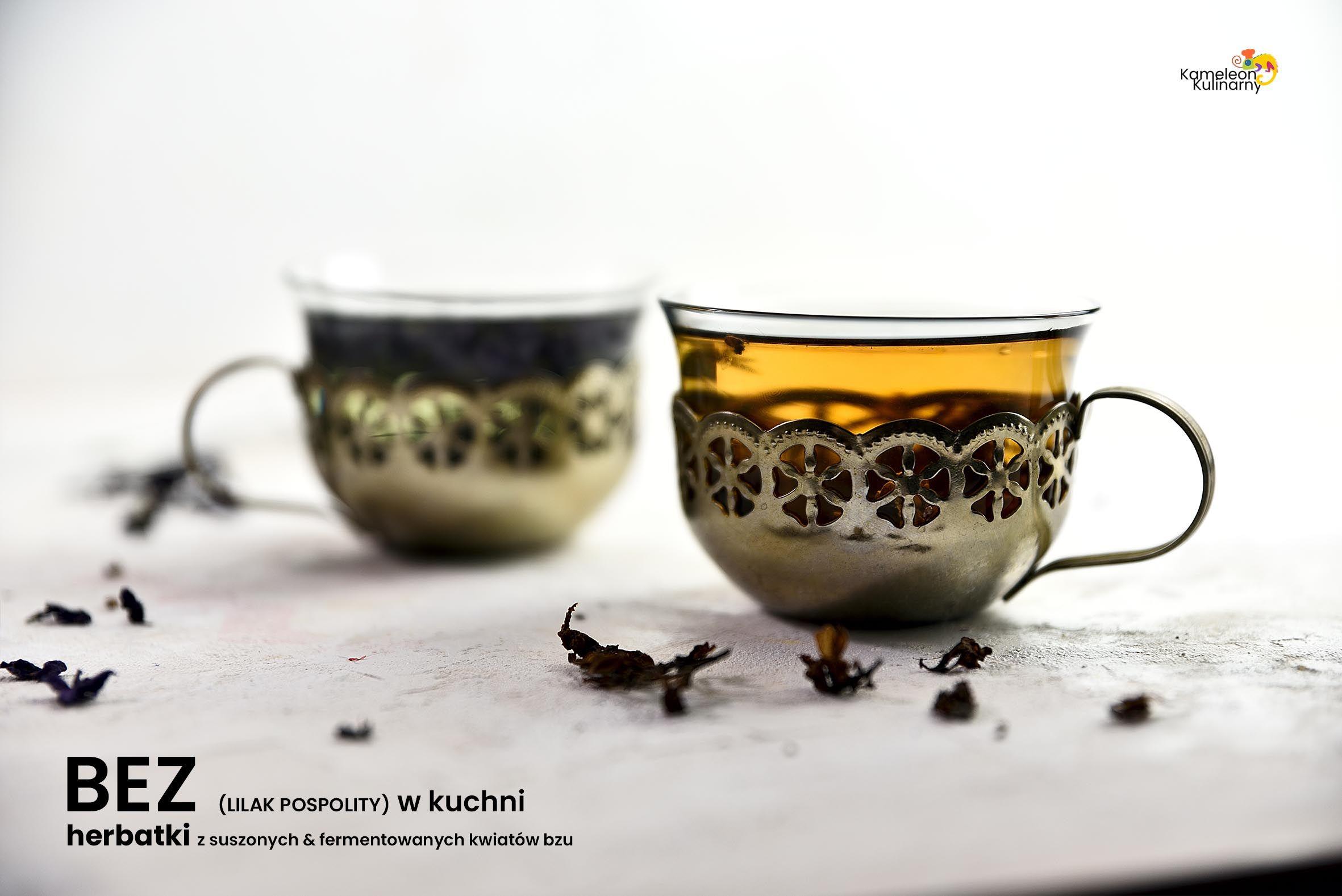 Bez W Kuchni I Herbatka Z Suszonych I Fermentowanych Kwiatow Bzu Syringa Vulgaris Syringa Lilac