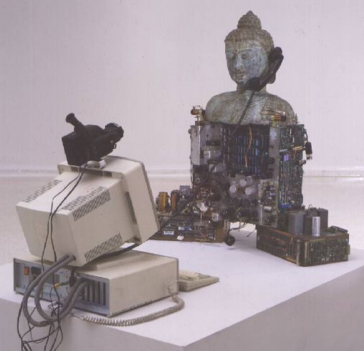 Image result for buddha computer