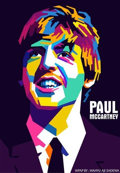 Beatles Art George Harrison Deviantart Ringo Starr Paul Mccartney John Lennon Pop Pintura