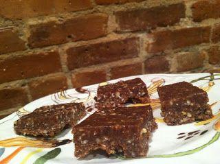 Bed Stuy Foodie: Frozen Vegan Chocolate Peanut Butter Bars