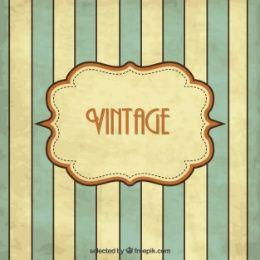 Fondo vintage de rayas