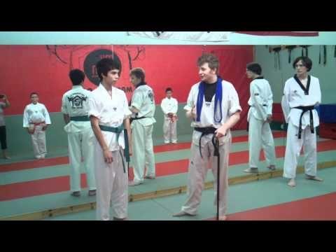 Enzo Receives His Green Belt 7/15//11
