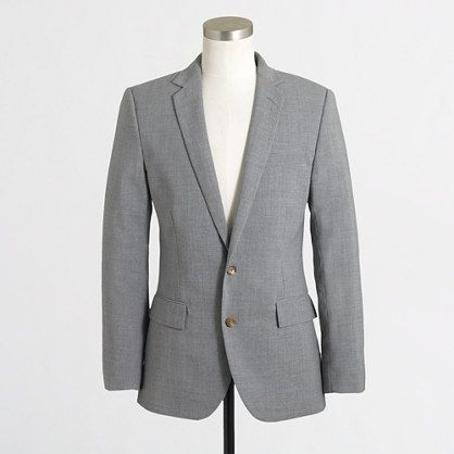 J.Crew Factory - Factory Thompson lightweight suit jacket with ...