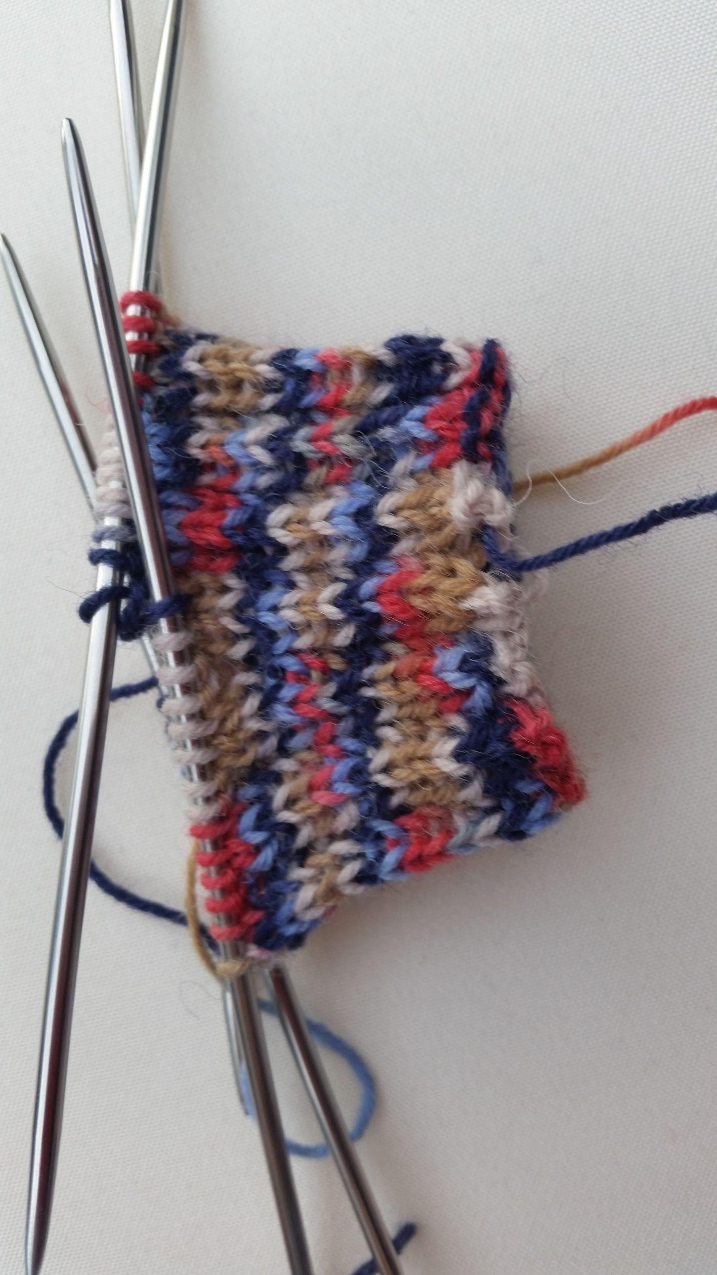 Chaussettes en tricot comme grand-mère avec des instructions simples!   – Stricken