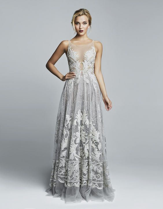 Grey Themed Wedding Ideas Dress Stay At Home Mum