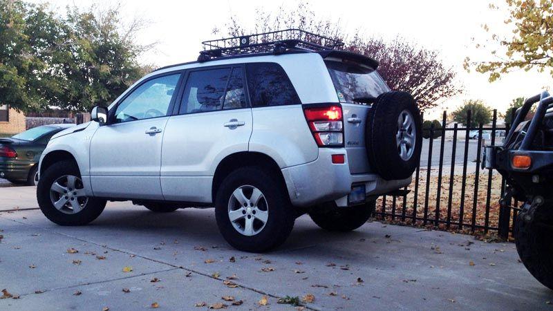 245 75 16 + 2 inch lift | grand vitara off road , lift , tyres