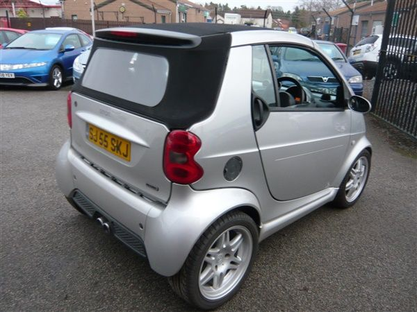 Used 2006 Smart Fortwo Brabus 2dr Auto Convertible 31 000 Miles In Silver For Banchory