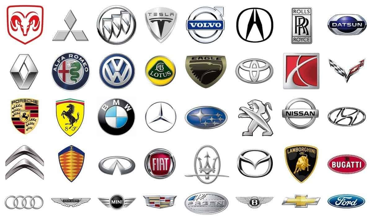 25 Car Emblems and Their Meaning Car symbols, Car brands