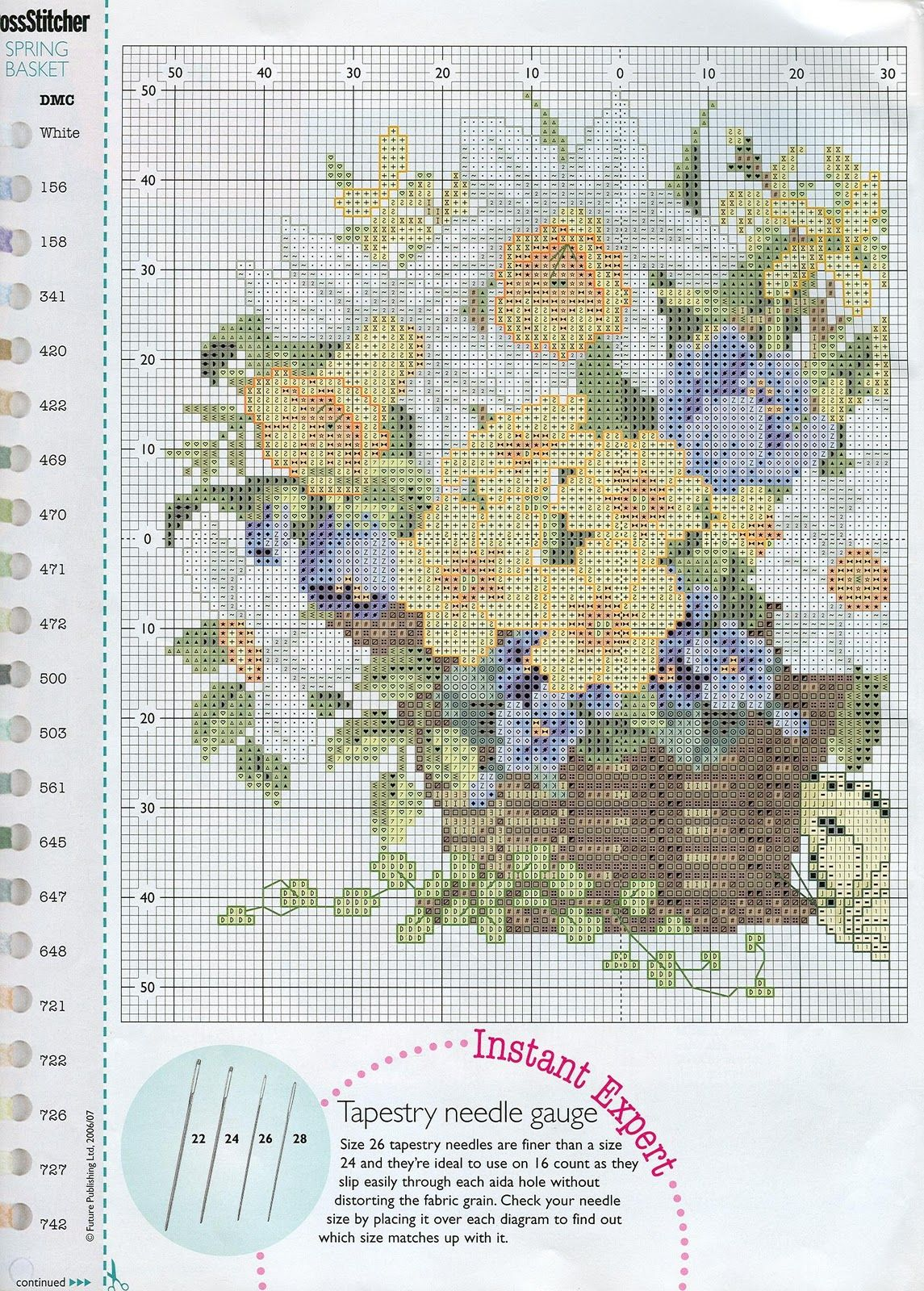 Flores Silvestres 1 Punto Cruz Pinterest Cross Stitch Stitch