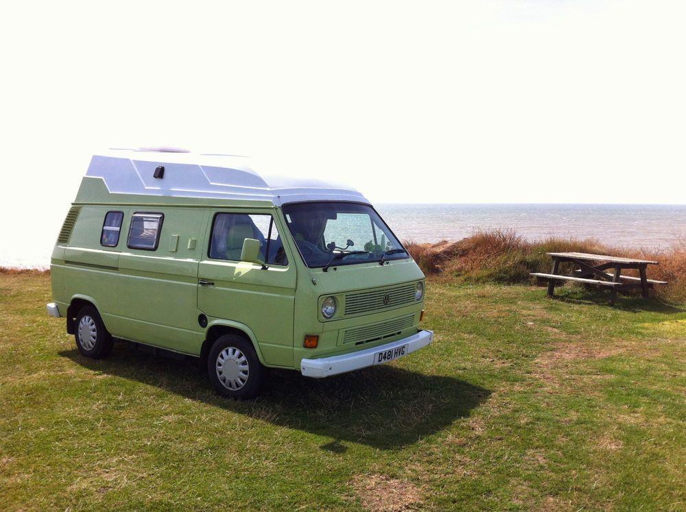 vw t3 camper van 39 pea green 39. Black Bedroom Furniture Sets. Home Design Ideas