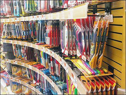 Lines in Visual Merchandising – the way we display |Curved Line Display Visual Merchandising