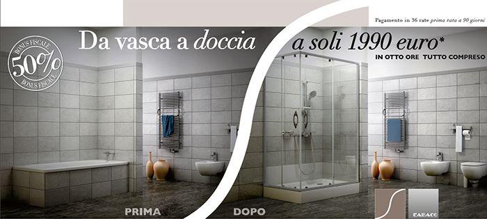Trasformare vasca in box doccia #arredobagno http://www ...