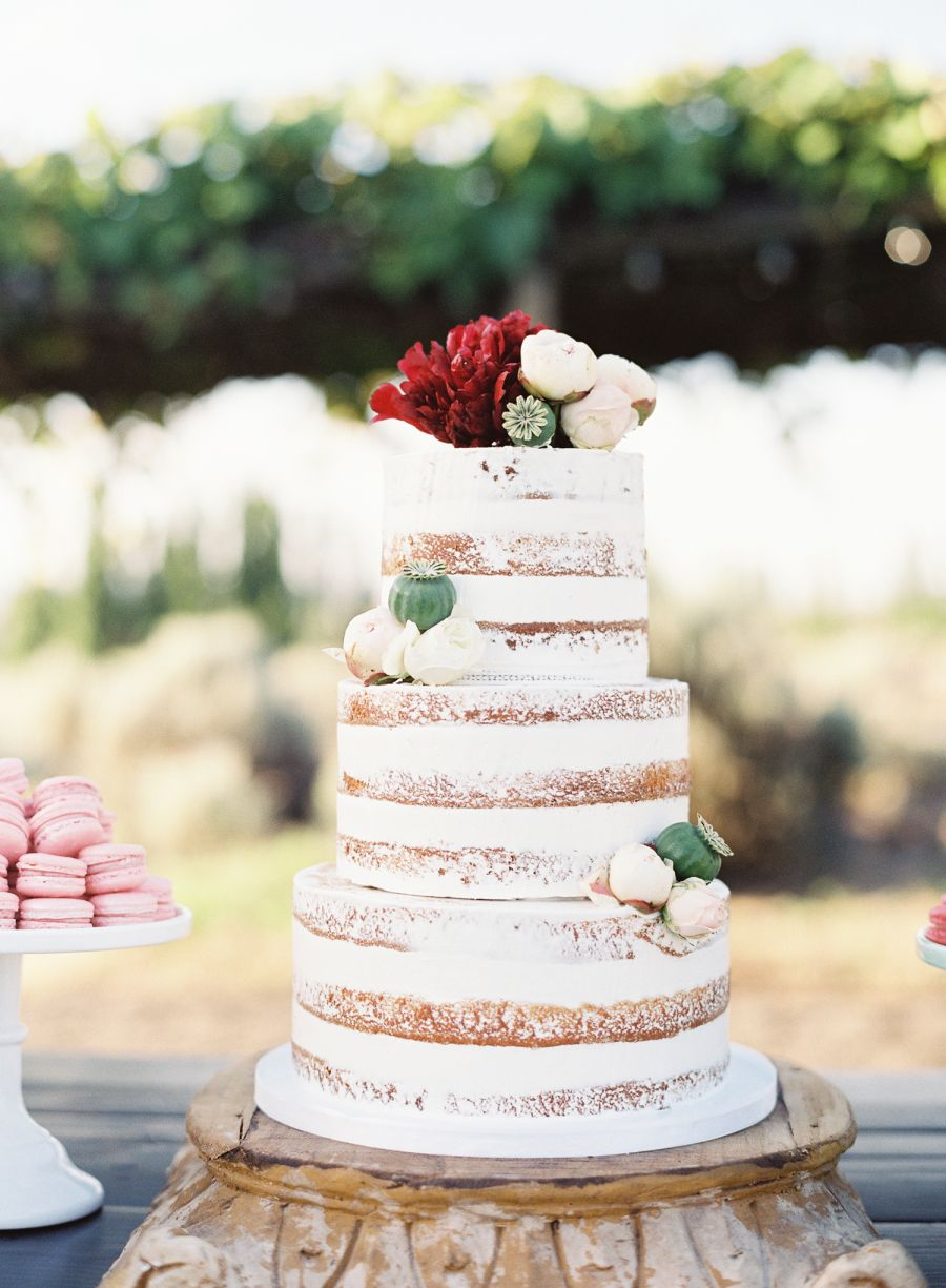 A wine country wedding like youuve never seen cake wedding and