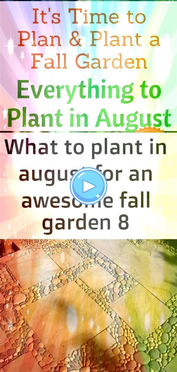to plant in august for an awesome fall garden 8 Everything to Plant in August Zone 1 2 3 4 5 6 7 8 9 and 10 Plan and Plant Your Fall Garden Now STYLED STONE PATIO LLL OR...