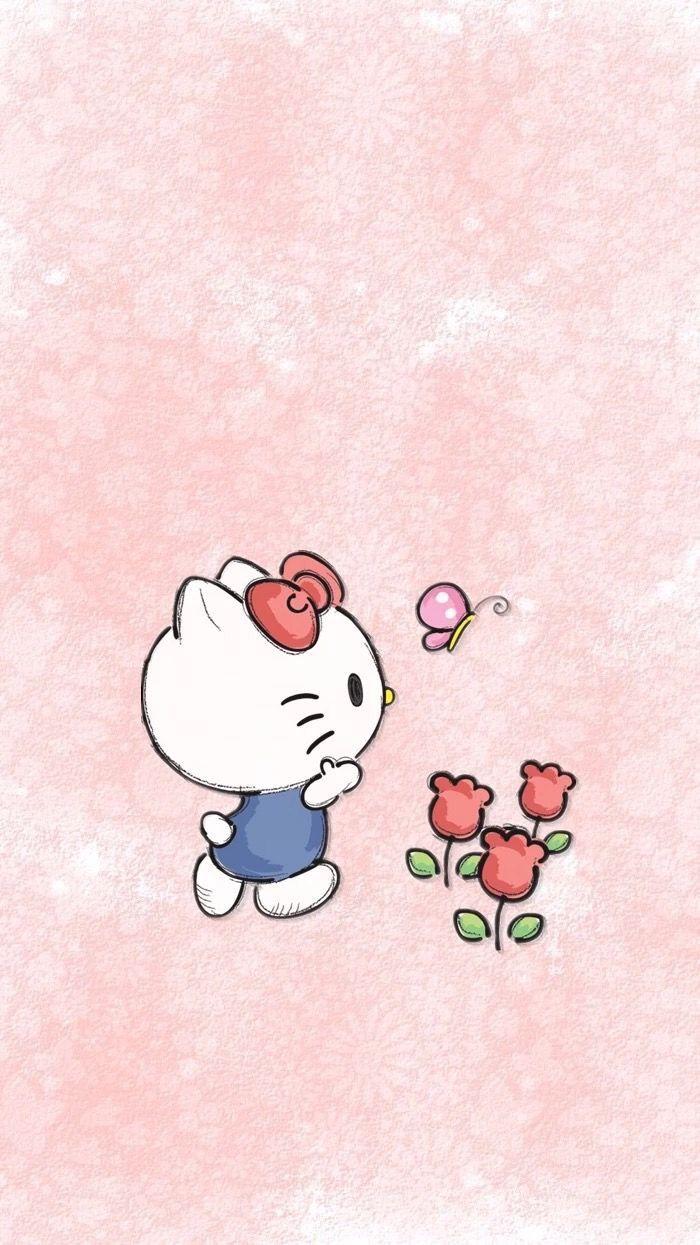 Pin By Andrea Macinnes On Hello Kitty Hello Kitty Pictures Hello Kitty Art Hello Kitty Wallpaper