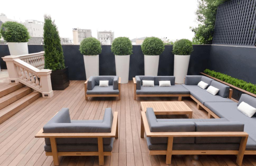 15 Outdoor Deck Ideas For Better Backyard Entertaining Modern Patio Design Outdoor Patio Designs Modern Outdoor Living
