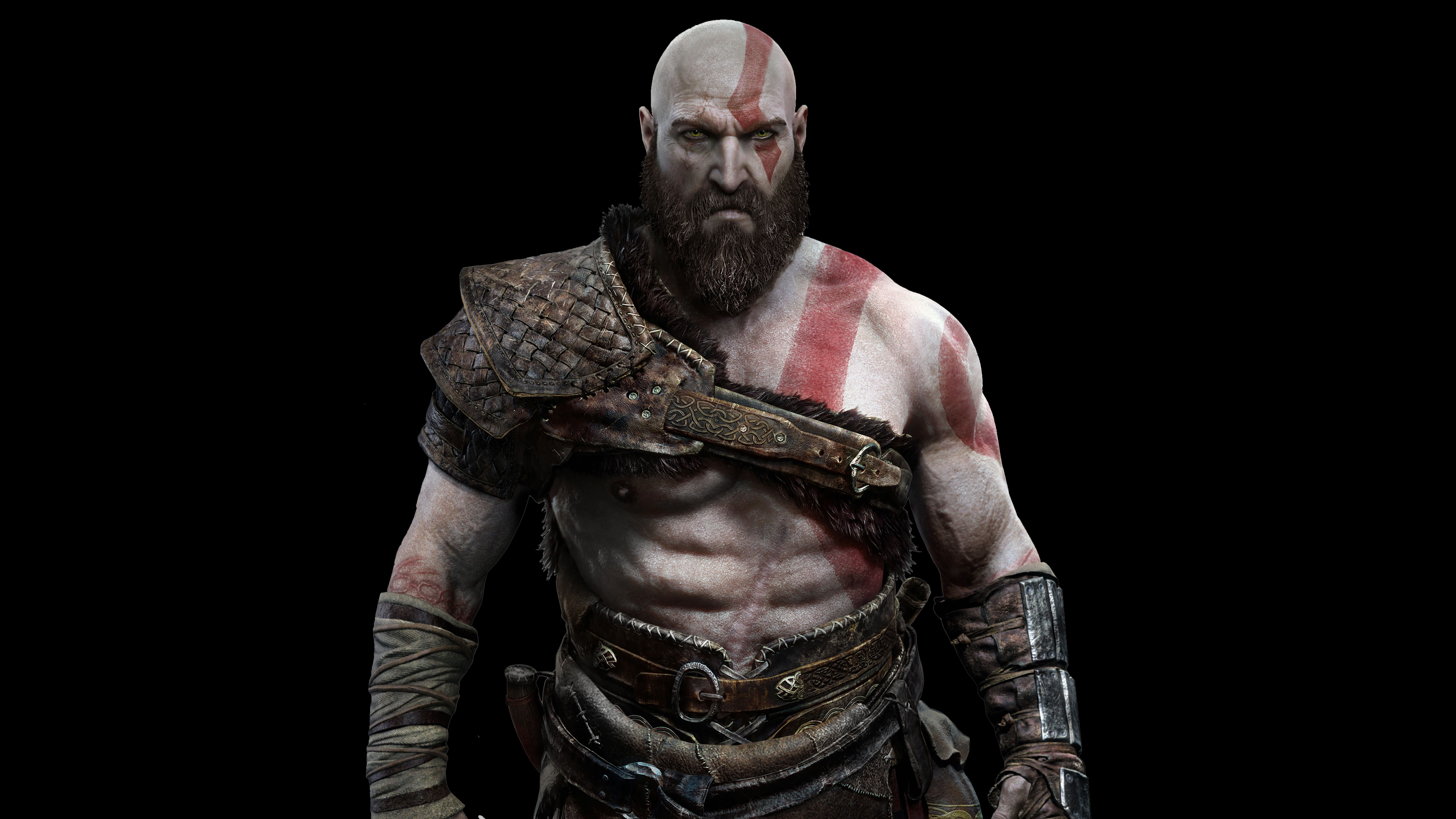 God Of War Kratos Ps4 8k Game 7680x4320 Wallpaper God Of War