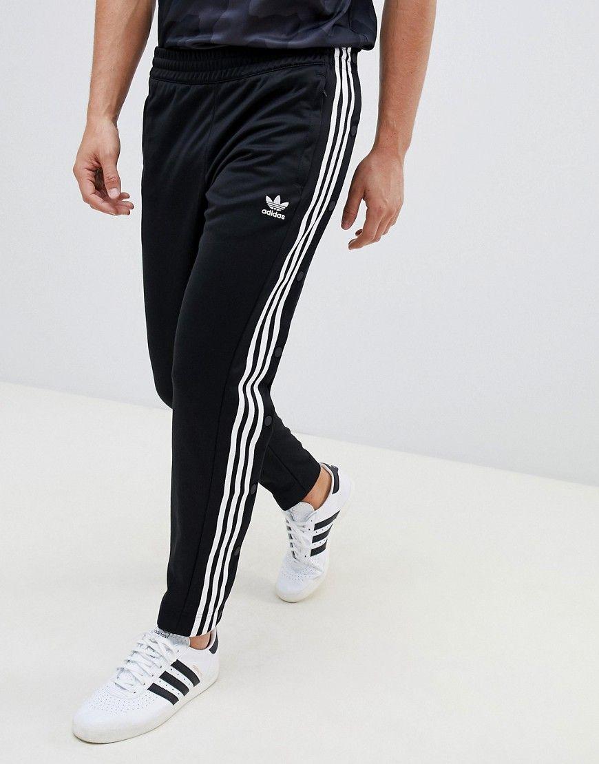 9ee8d4091e2 Adidas Originals Adidas Athletics Knitted Joggers In Black Cg2129 - Black