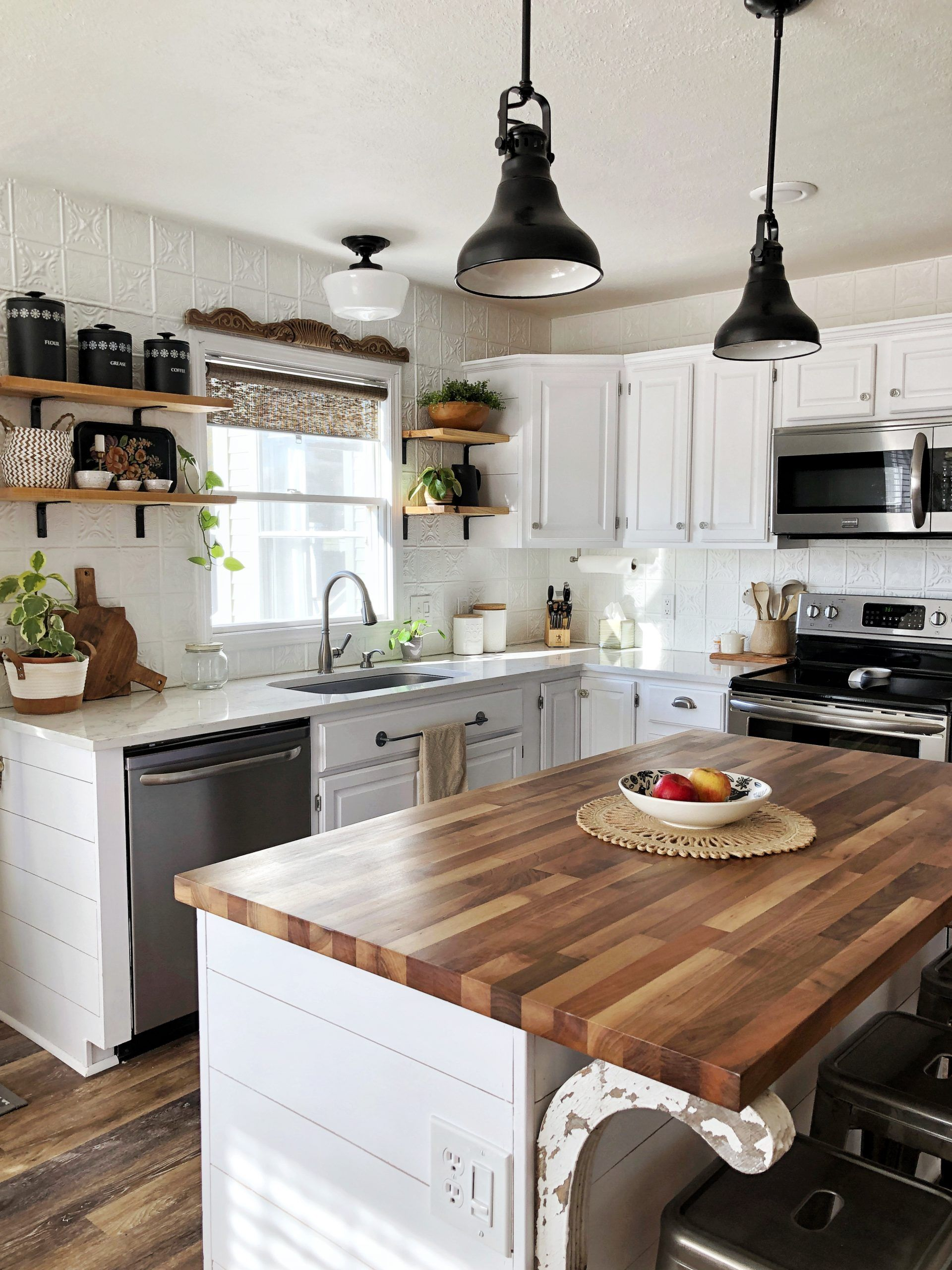 to my Spring Boho Farmhouse Kitchen! in 2020 (With