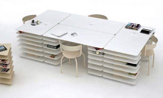 Accros Au Boulot On A Trouve Le Bureau Pratique Et Design Qu Il Vous Faut Office Desk Designs Modern Home Office Desk Desk Modern Design