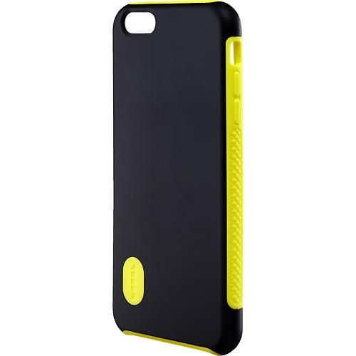 Modal - Dual-Layer Case for Apple® iPhone® 6 Plus - Black/Yellow