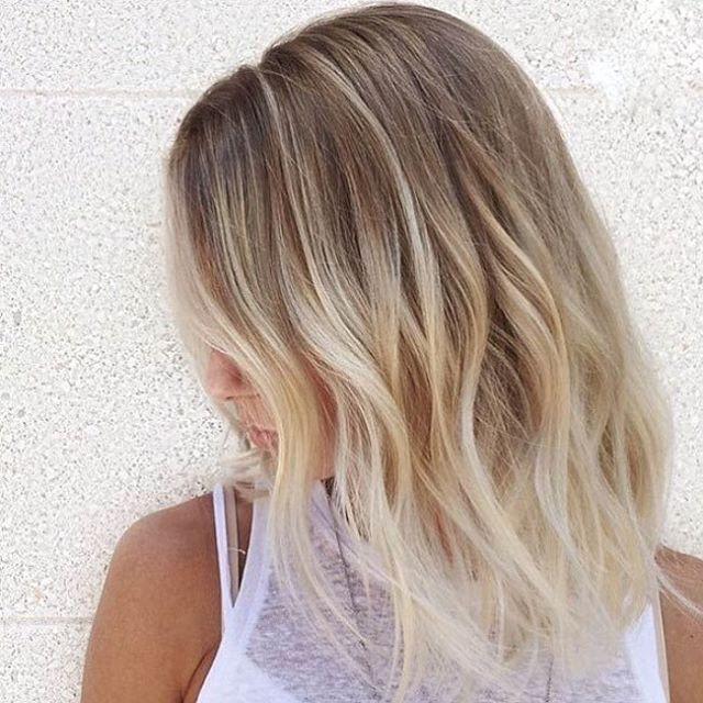 Bij De Tijd Blijven 11 Halflange Kapsels Die Extreem Sterk In De Mode Zijn Schone Frisuren Fur Schulterlange Haare Schulterlange Haare Frisuren Haarfarben