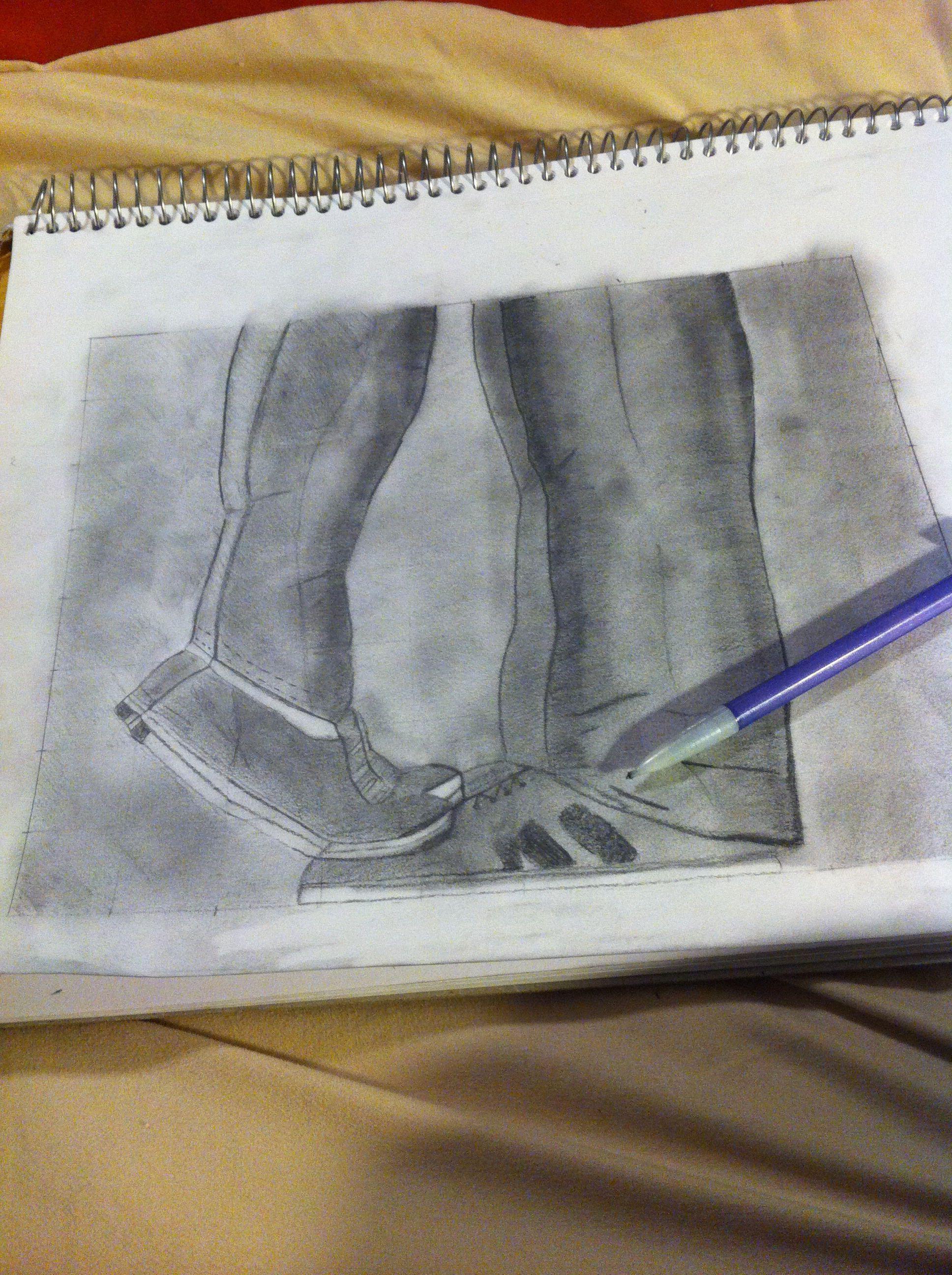Nighttime drawing