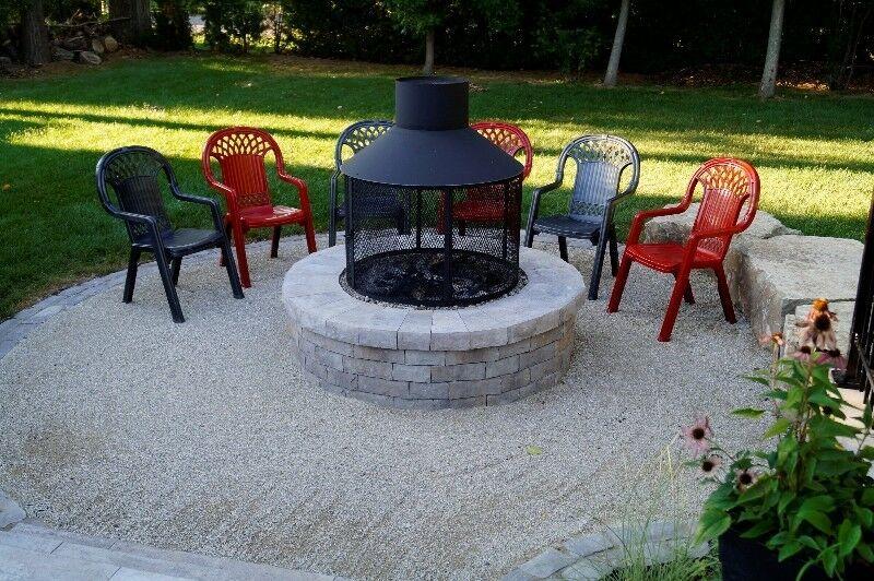 Foyer Exterieur Mobilier Pour Terrasse Et Jardin Granby Kijiji In 2020 Outdoor Fire Pit Outdoor Fire Outdoor Fireplace