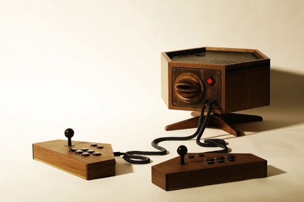 Wooden MAME Console | Just Nifty | Arcade console, Retro