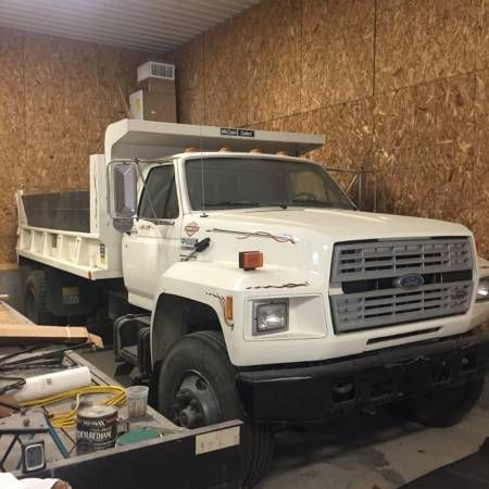 1991 Ford F800 Dump Truck For Sale By Owner On Heavy Equipment
