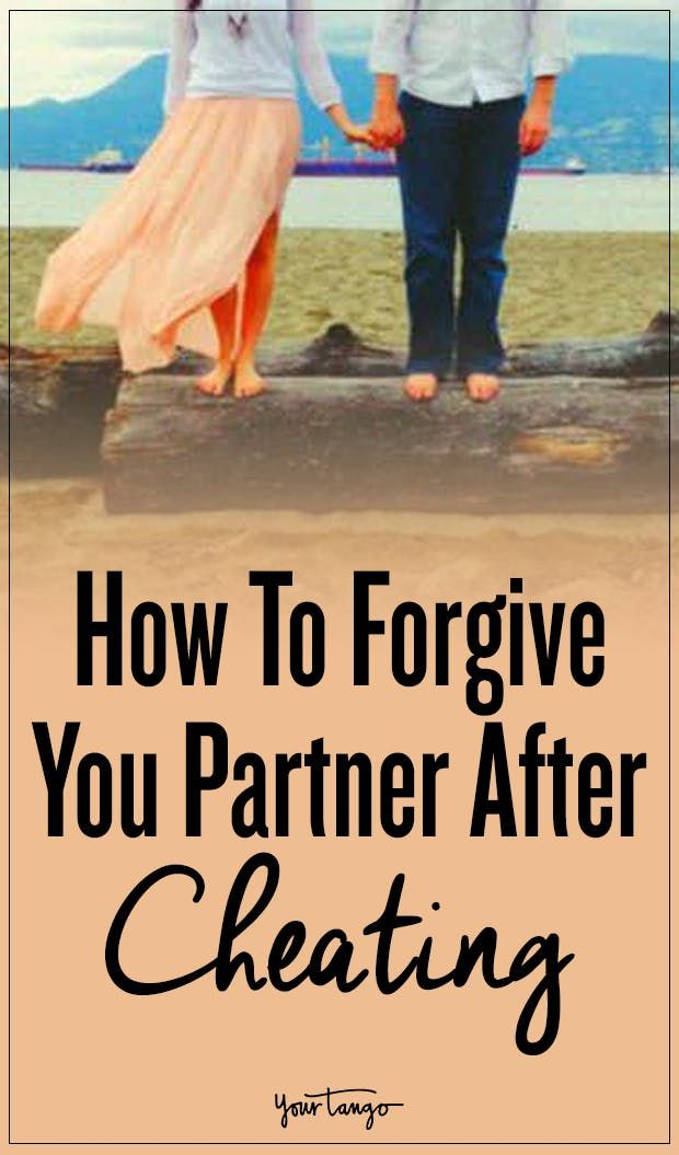 Forgiving your partner for cheating