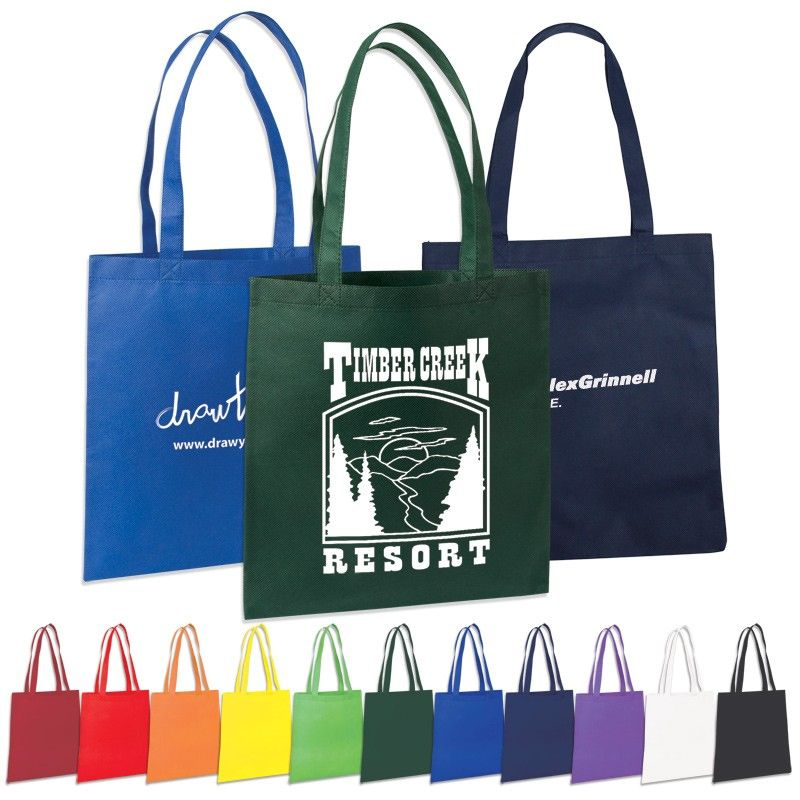 Non Woven Value Tote Bag Woven tote bag, Promotional