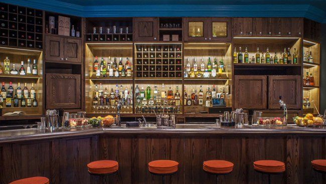 Superb The Pouring Ribbons Team Prioritized Ease And Comfort In Their Bar Design.  Photo: Paul