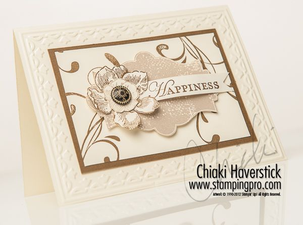 by Chiaki Haverstick, Stamps Ink Paper Create, stampingpro