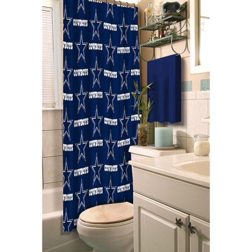 Southwestern Rugs dallas cowboys bathroom rug set Dallas Cowboys Decorative Bath Collection Shower Curtain