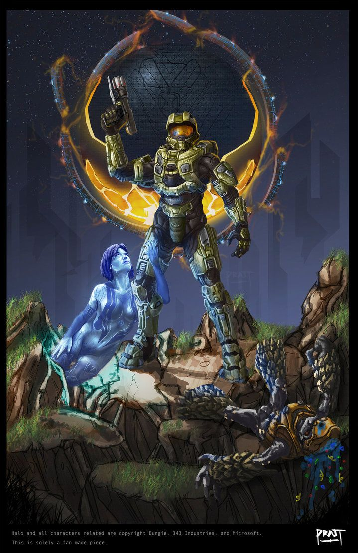 Halo 4 by PRATTFACE Halo, Halo armor, Halo series