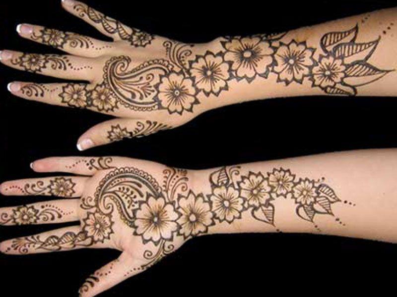 Mehndi Patterns For Arms : Mehndi designs wallpaper arm