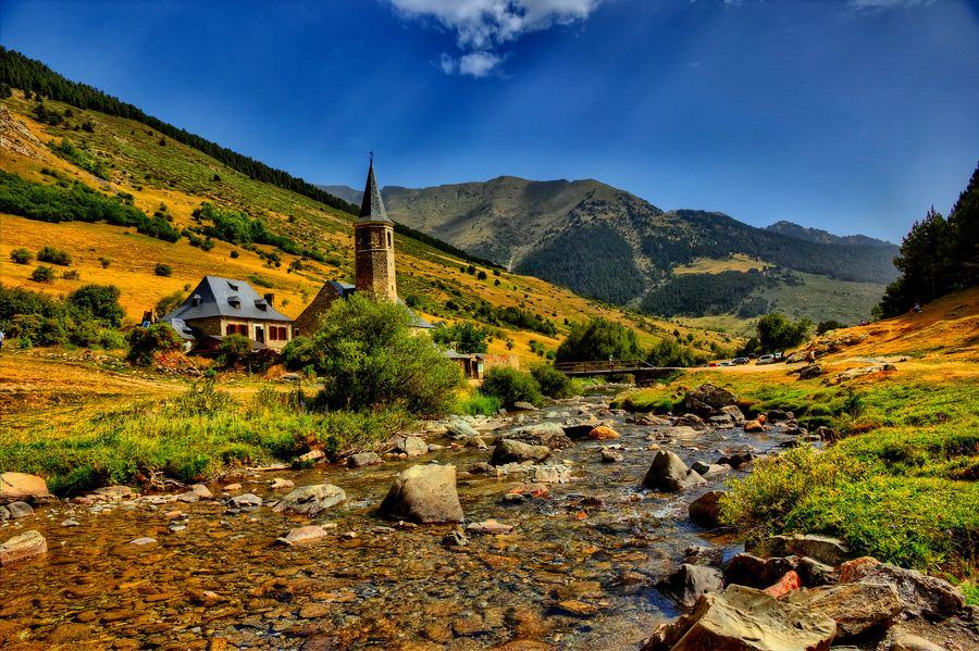 Montgarri, Valle de Arán, Pirineos, Cataluña, España