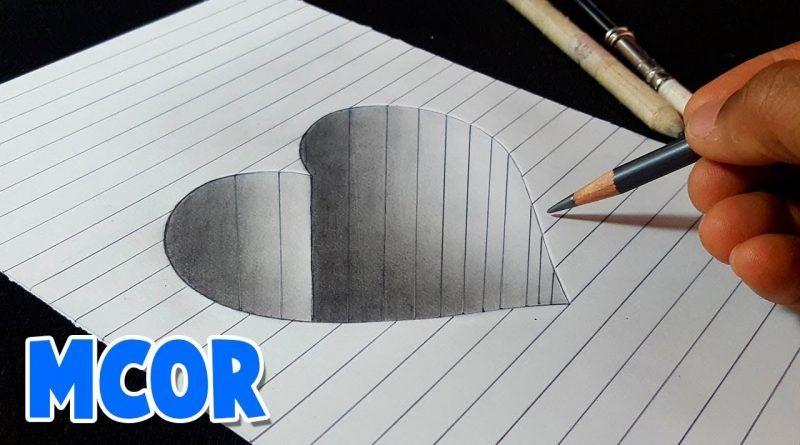 11 Ideas De Pintar En 3d Dibujos 3d A Lápiz Cómo Dibujar En 3d Dibujos 3d