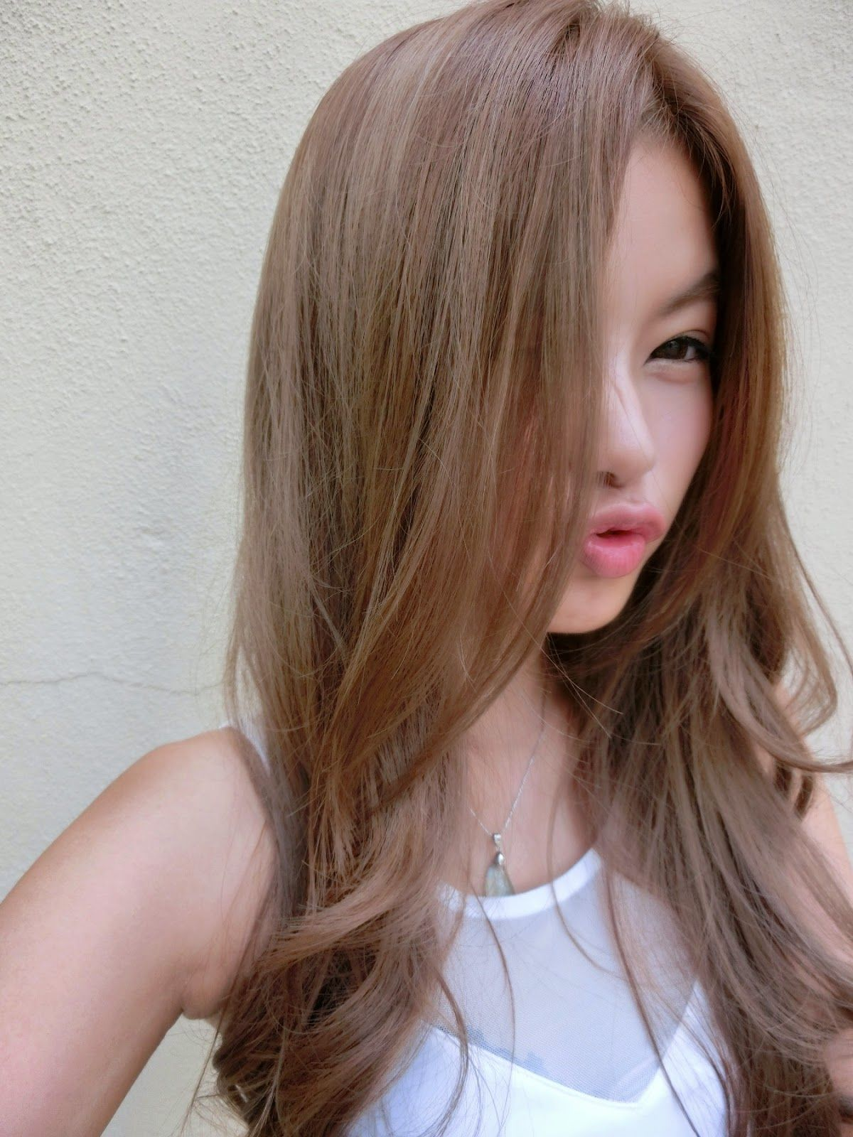 Girl Blonde Asian Colored