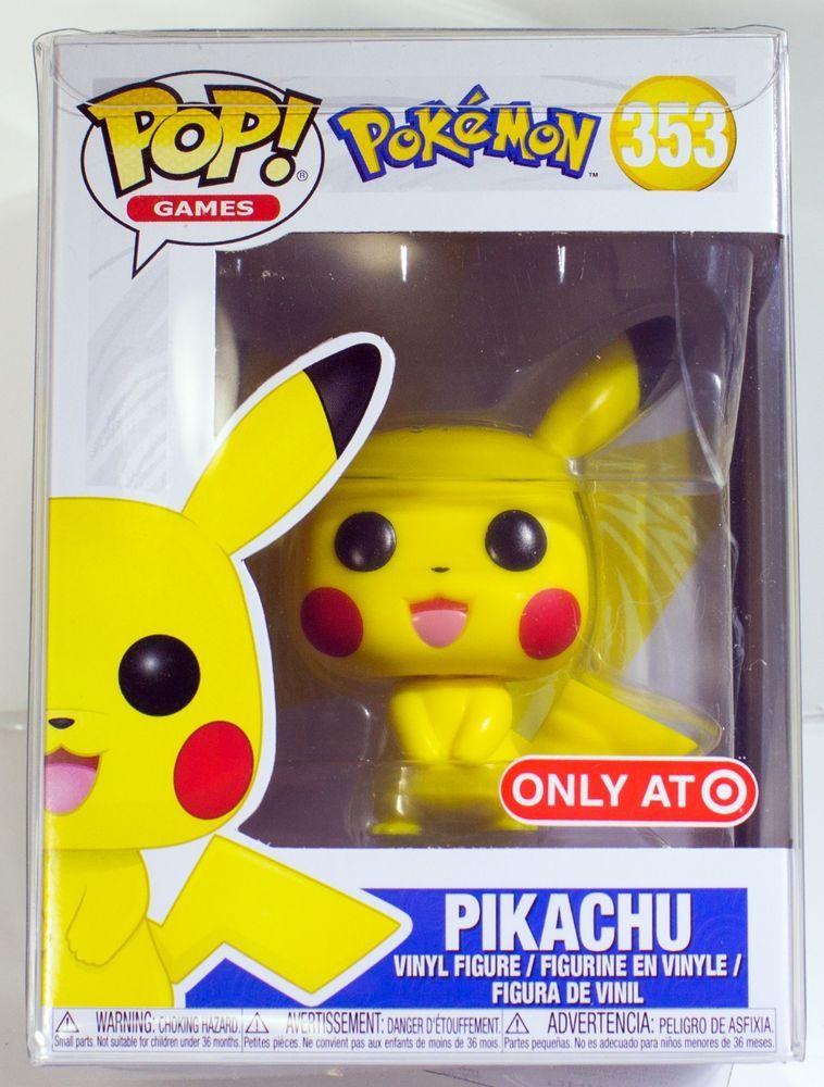 Funko Pop Games Pikachu 353 Pokemon Target Exclusive New In Stock