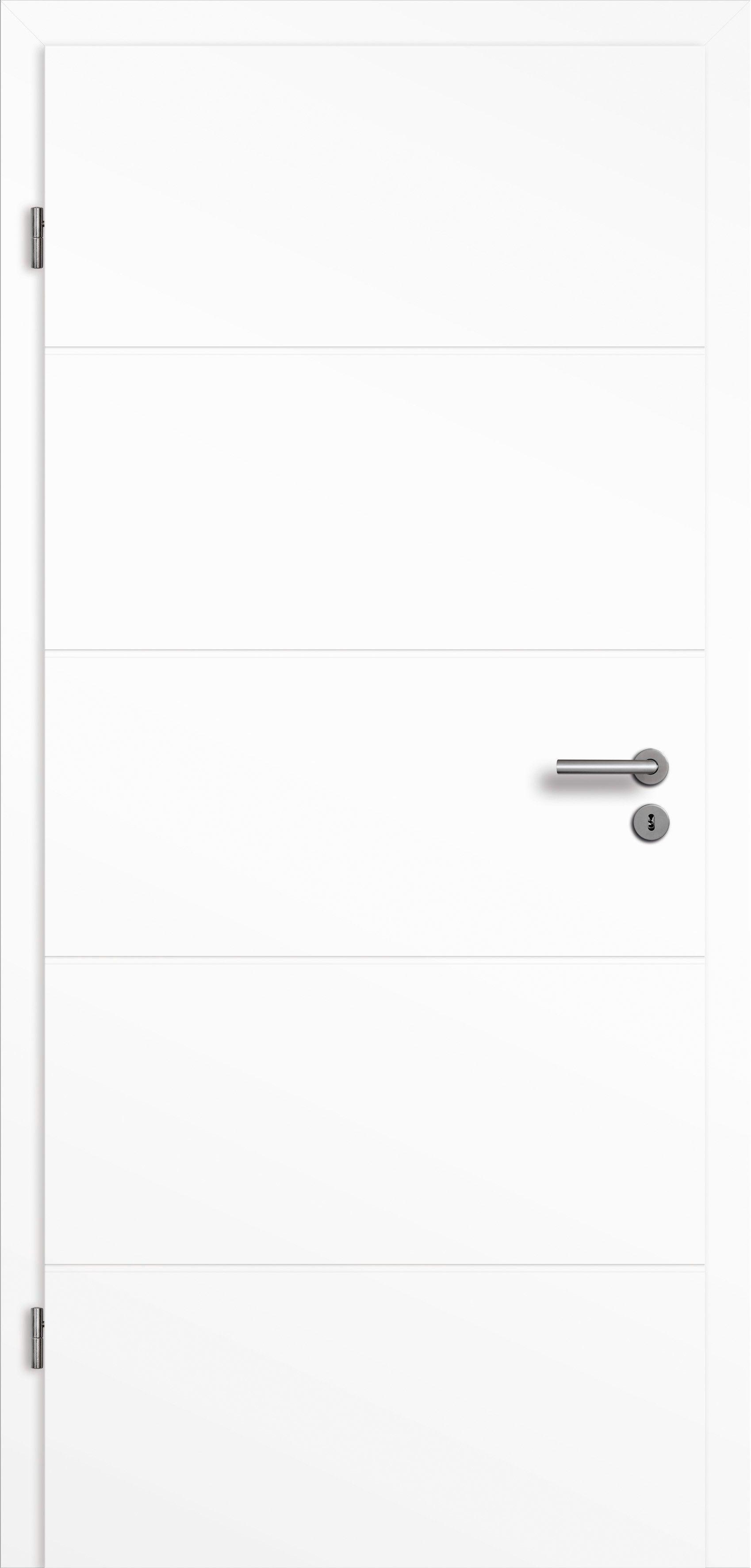 Nice Attraktive Dekoration Herholz Turen Handler #7: Zimmertür Pertura Perla 05 Weißlack Weiß 61,0x198,5 Cm Links | Doors, House  And Interiors