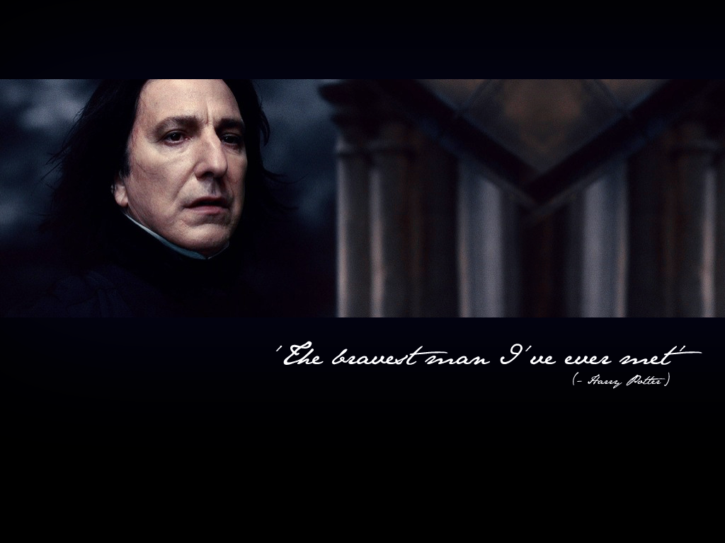 apart from alan rickman, who would have played severus