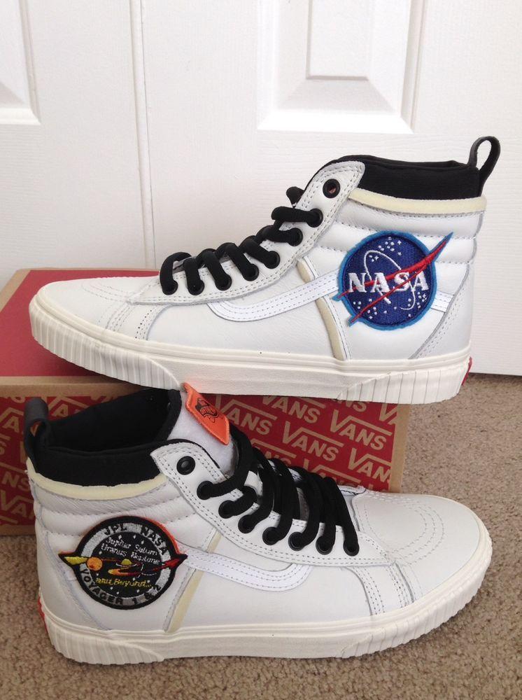 cfd0bbc7f4 vans NASA sk8 hi MTE DX skateboarding supreme white space shoes skate snow  boot  nasa  vans  blackfriday