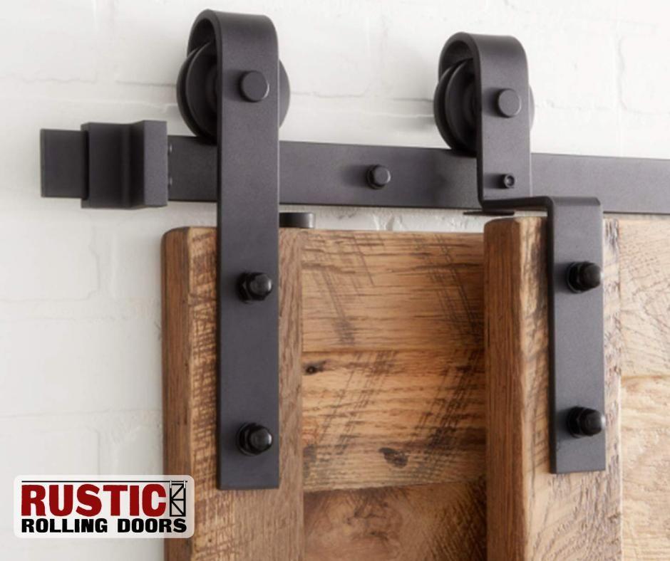 Classic Strap Single Track Bypass Barn Door Hardware Kit 4 20
